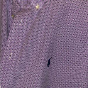 Polo button down. XL